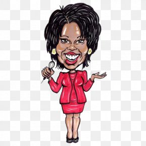 Us History Clipart - The Oprah Winfrey Show Cartoon Television Presenter Clip Art PNG