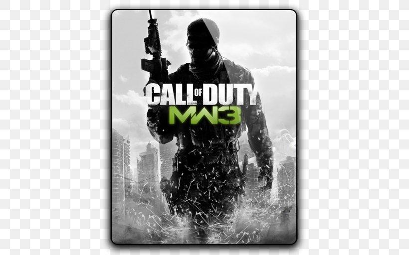 Call Of Duty: Modern Warfare 3 Call Of Duty 4: Modern Warfare Call Of Duty: Black Ops II Call Of Duty: Modern Warfare 2 Call Of Duty: Zombies, PNG, 512x512px, Call Of Duty Modern Warfare 3, Battlefield 3, Black And White, Call Of Duty, Call Of Duty 4 Modern Warfare Download Free