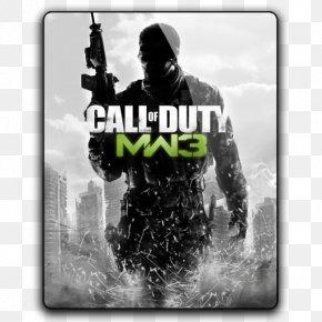 Call Of Duty Modern Warfare 3 - Call Of Duty: Modern Warfare 3 Call Of Duty 4: Modern Warfare Call Of Duty: Black Ops II Call Of Duty: Modern Warfare 2 Call Of Duty: Zombies PNG
