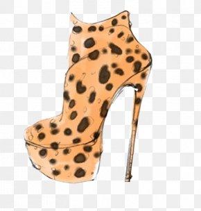 Hand-drawn Illustration High Heels - High-heeled Footwear Shoe Adidas Clothing Illustration PNG
