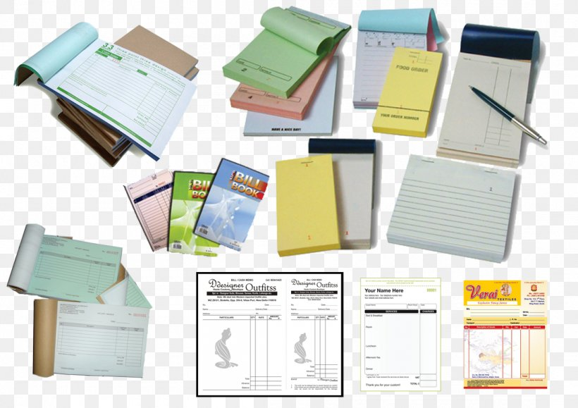 Paper Printing Invoice Book Design, PNG, 1100x777px, Paper, Book, Book  Design, Bookbinding, Books Printing Download Free