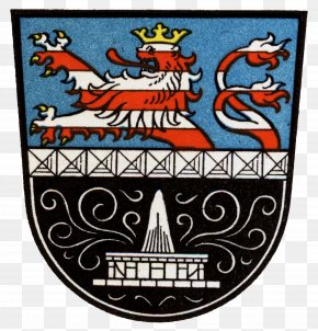 Bad - Bad Nauheim Coat Of Arms Of Hesse Blazon National Emblem PNG
