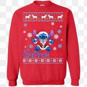 T-shirt - T-shirt Christmas Jumper Sweater Crew Neck PNG