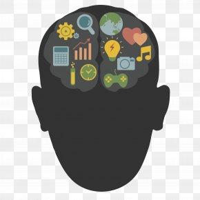 Vector Human Brain - Brain Human Head Homo Sapiens PNG