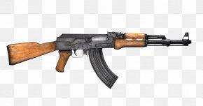 Ak 47 - Firearm AK-47 Machine Gun Weapon PNG