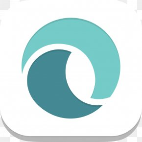Twitter - Logo Blue Wave Turquoise Teal PNG