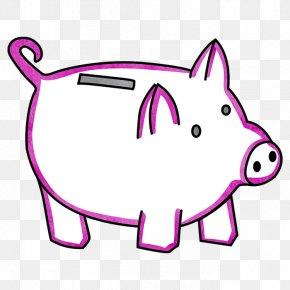 Piggy Bank - Mammal Line Art Carnivora Canidae PNG