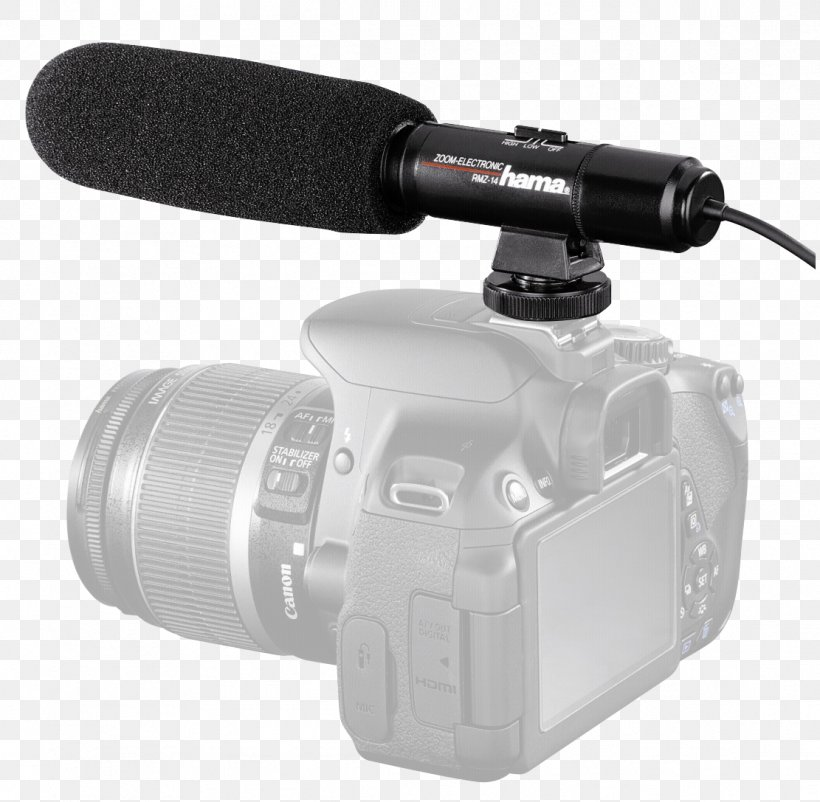 Hama Rmz 14 Directional Microphone Stereo Pop Filter Camera Camcorder Png 1111x1087px Microphone Analog Signal Audio