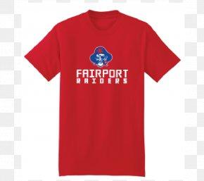 Printed T Shirt Red - T-shirt British & Irish Lions Rugby Shirt Jersey PNG