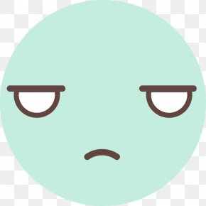 Cute Round Face - Cartoon Facial Expression Snout Face PNG