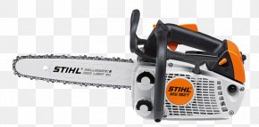 White Chainsaw - Stihl Chainsaw Safety Features Arborist PNG