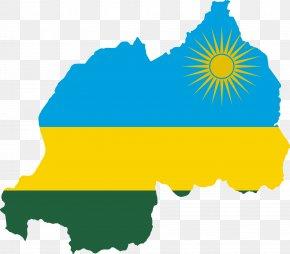 Russia - Flag Of Rwanda Map Democratic Republic Of The Congo PNG