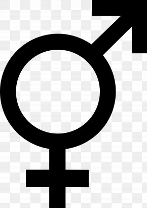 Symbols - Gender Symbol Transgender Hermaphrodite Intersex PNG