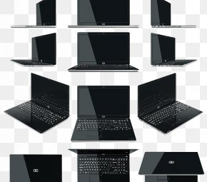 Computer Style Each Angular Direction - Laptop Stock Photography PNG