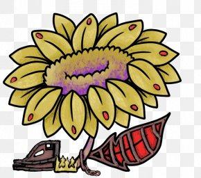Masque De Fer - Floral Design Clip Art Sunflower M Cut Flowers Visual Arts PNG