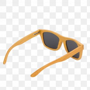 Sunglasses - Goggles Sunglasses Light Yellow PNG