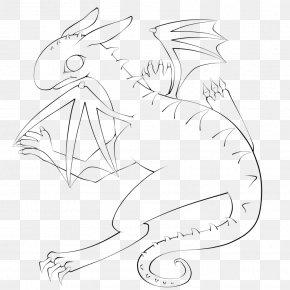 Dragon Line Art - Line Art Drawing DeviantArt PNG