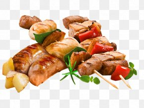 Grilled Food Transparent Image - Sausage Barbecue Kebab Grilling PNG