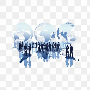Business People And The Planet - International Business Company Management Organization PNG