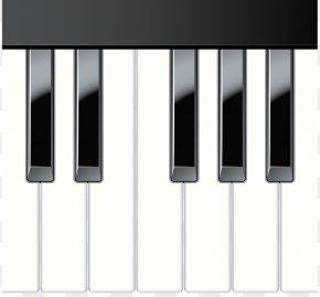 Piano Keys Clip Art - Digital Piano Musical Keyboard Clip Art PNG