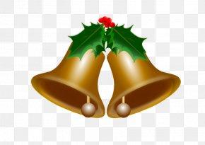 Bells Vector - Christmas Jingle Bell Clip Art PNG