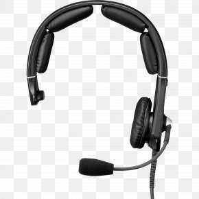 Headset - Microphone Headphones Headset Telex XLR Connector PNG