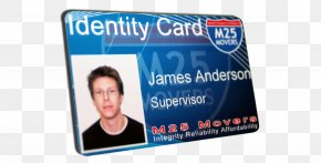 Id Card Design - Brand Display Advertising Font PNG