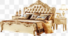 Bed - Furniture Table Bedroom Couch PNG