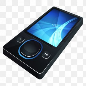 HP Zune - Portable Communications Device Electronic Device Gadget Multimedia PNG