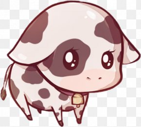 Cute Stitch Kawaii - Taurine Cattle Clip Art Drawing Image PNG