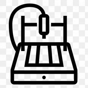 Machine - Computer Numerical Control Machine Symbol PNG