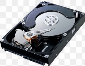 Computer Hard Disk - Hard Disk Drive Serial ATA Data Storage Seagate Barracuda Solid-state Drive PNG