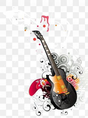 Musical Instrument Guitar Vector - Guitar Musical Instrument PNG