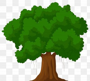 Tree Clip Art - Tree Cartoon Green Clip Art PNG