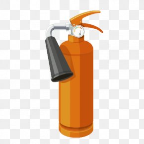 Cartoon Fire Extinguisher - Fire Extinguisher Firefighting Drawing Firefighter PNG