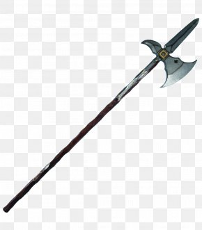 Halberd - Foam Larp Swords LARP Dagger Live Action Role-playing Game Halberd Spear PNG