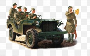 Stalin - Jeep AIL M325 Command Car Willys MB Vehicle PNG