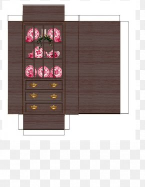 Dining Room - Paper Drawer Furniture Dining Room PNG