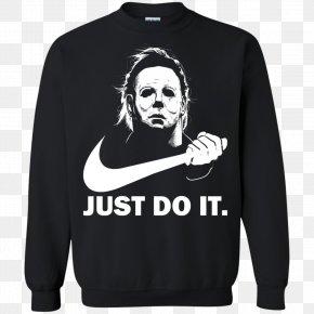 T-shirt - T-shirt Michael Myers Hoodie Halloween PNG