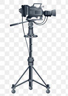 Video Camera - Tripod Video Camera PNG