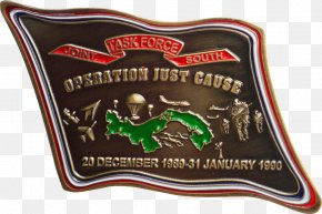 Just Cause - United States Invasion Of Panama Panama Canal Panama City United States Southern Command Challenge Coin PNG