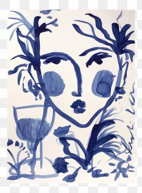 Painting - Floral Design Paper Painting Acrylic Paint Art PNG