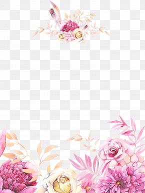 Peony Floral Design - Floral Design PNG