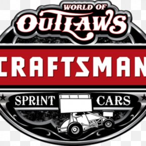 World Of Outlaws - 2018 World Of Outlaws Craftsman Sprint Car Series 2018 World Of Outlaws Craftsman Late Model Series Sprint Car Racing Charlotte Motor Speedway PNG