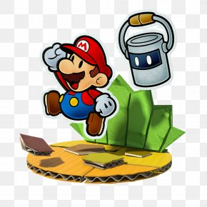 Mario - Paper Mario: Color Splash Wii U PNG