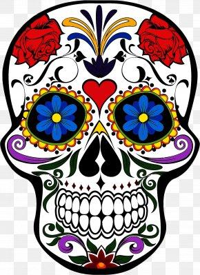Visual Arts Sticker - Bone Skull Sticker Visual Arts PNG