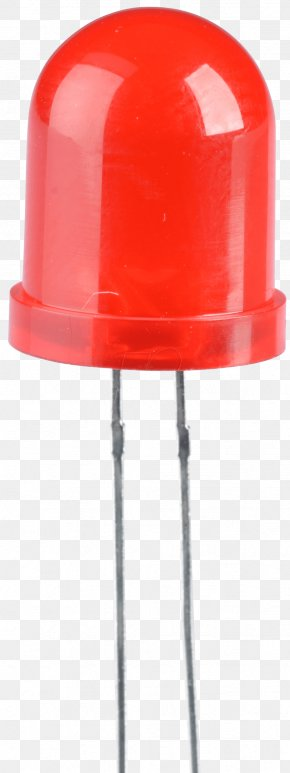Light Emitting Diode - Light-emitting Diode Red Millicandela Lichtfarbe PNG