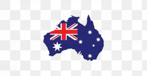 Australia Flag Hd - Australia Vector Map Clip Art PNG