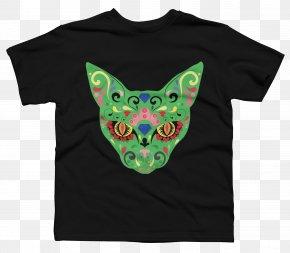 Cat Lover T Shirt - Printed T-shirt Hoodie Sleeve Gildan Activewear PNG
