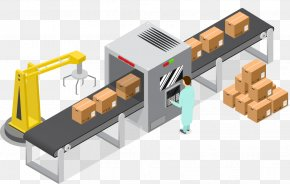 Belt - Conveyor System Conveyor Belt Factory Logistics Packaging And Labeling PNG